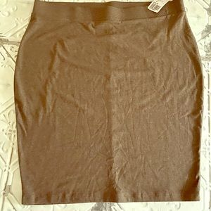 Forever 21 Brown Knit Pencil Skirt Size 2X